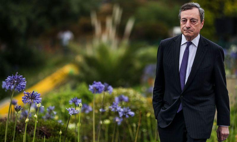 """Mario Draghi, ECB prezidentas.  Carlos Costa (AFP / """"Scanpix"""") nuotr."""