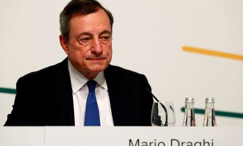 ECB kerpa palūkanas, euras pinga