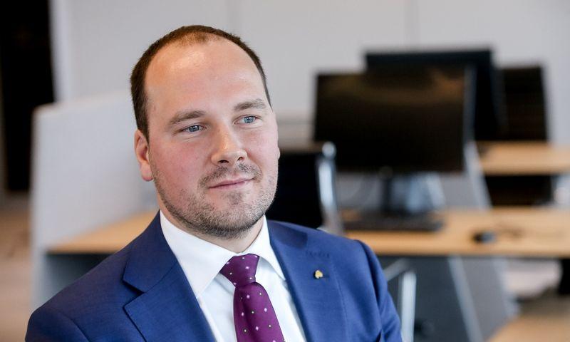 """Žygimantas Mauricas, banko """"Luminor"""" vyriausias ekonomistas. Vladimiro Ivanovo (VŽ) nuotr."""