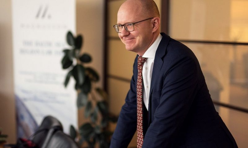"""Marius Liatukas, advokatų kontoros """"Magnusson"""" partneris. Ryčio Galadausko nuotr."""
