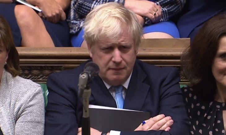 """JK vyriausybė paviešino dokumentą, apžvelgiantį """"Brexit"""" be susitarimo grėsmes"""