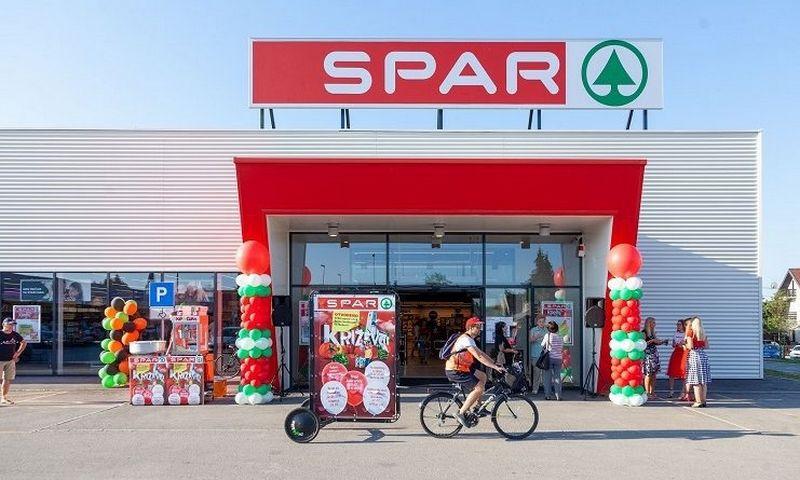 Kroatijoje šį rugsėjį atsidariusi parduotuvė. Prekybininkės nuotr.