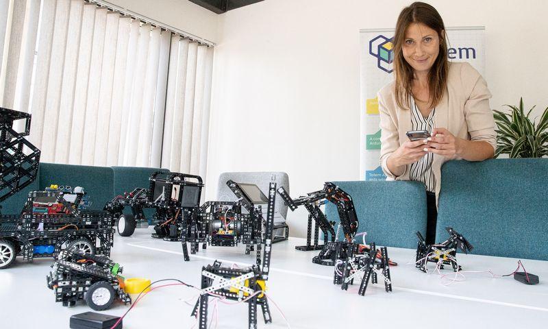 """Martyna Bielskienė, UAB """"Aldrea"""" filialo """"Totem"""" direktorė: """"Mes esame ne paslaugų, IT ar finansinių technologijų, o tradicinės gamybos įmonė, tiesa, kurianti netradicinį produktą."""" Vladimiro Ivanovo (VŽ) nuotr."""