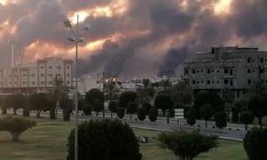 Saudo Arabijoje apšaudyti du dideli naftos pramonės objektai