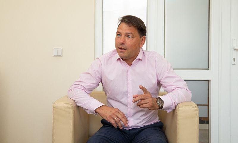 """Marijus Cilcius, """"Mineraliniai vandenys"""" ir """"MV Group"""" generalinis direktorius. Vladimiro Ivanovo (VŽ) nuotr."""
