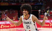 Prancūzijos krepšininkai iškovojo bronzos medalius