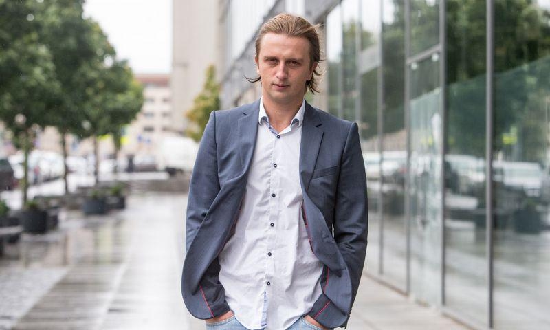 """Nikolajus Storonskis, finansinių paslaugų startuolio """"Revolut"""" vadovas. Juditos Grigelytės (VŽ) nuotr."""