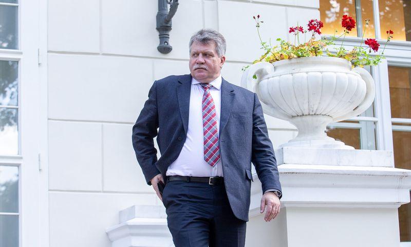 Jonas Vytautas Žukas, prezidento Gitano Nausėdos vyriausiasis patarėjas nacionalinio saugumo klausimais. Juditos Grigelytės (VŽ) nuotr.