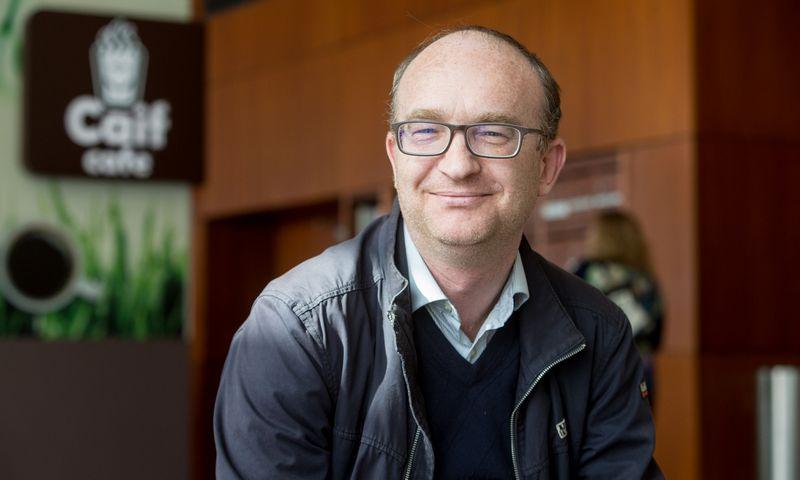 """Frederikas Jansonas, ryšių su visuomene agentūros """"KPMS ir partneriai"""" partneris. Juditos Grigelytės (VŽ) nuotr."""