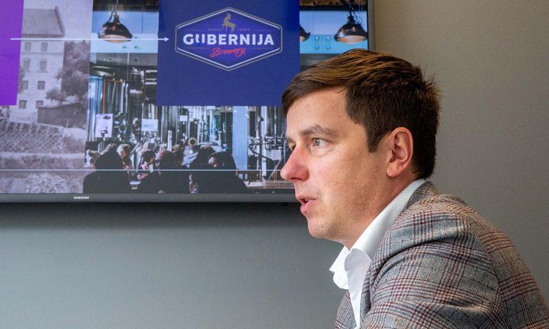 """Algirdas Čiburys, AB """"MV Group Production"""" generalinis direktorius. Juditos Grigelytės (VŽ) nuotr."""