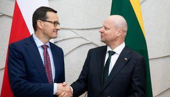 Lietuva, Lenkija nori mažinti Baltarusijos energetinę priklausomybę nuo Rusijos