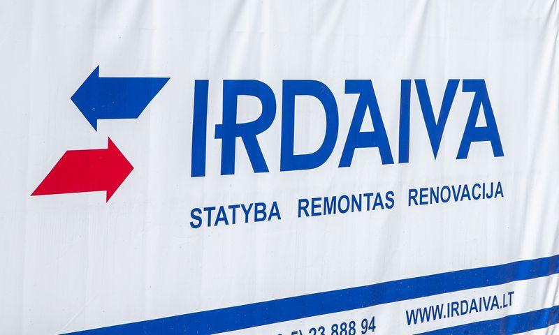 """Statybų UAB """"Irdaiva"""" logotipas. Juditos Grigelytės (VŽ) nuotr."""