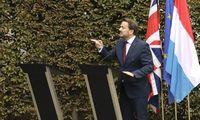 """Po susitikimo Liuksemburge kietojo """"Brexit"""" galimybė nesuminkštėjo"""