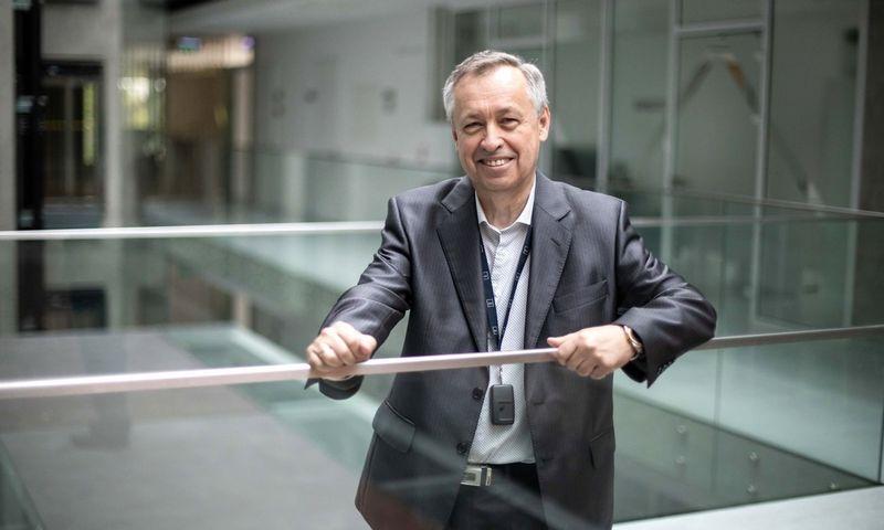 Egidijus Kazanavičius, KTU Informatikos fakulteto (IF) profesorius, Realaus laiko kompiuterių sistemų centro direktorius ir vienas iš sistemos kūrėjų.KTU nuotr.