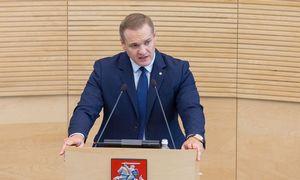 Buvęs vidaus reikalų ministras E. Misiūnas paskirtas R. Karoblio patarėju
