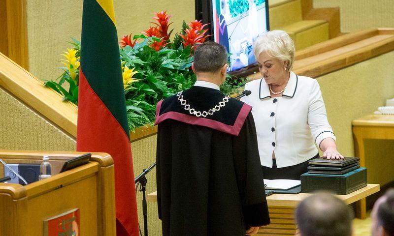 Seimo narė I. Rozova. Vladimiro Ivanovo (VŽ) nuotr.