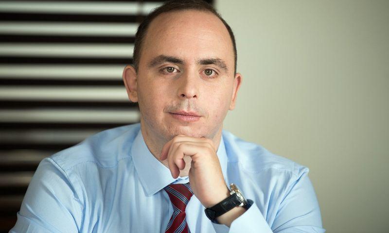 Aleksandras Izgorodinas SME Finance ekonomistas.
