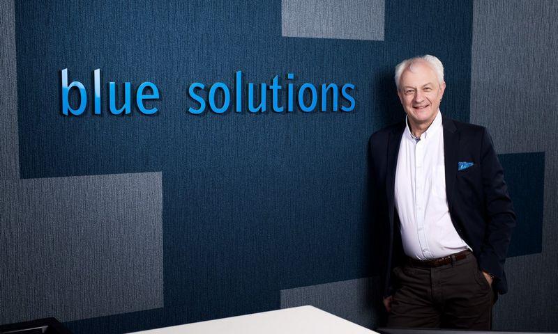 """""""Blue Solutions"""" direktorius Algimantas Brazauskas."""