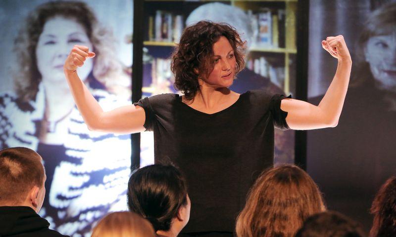 """Agnija Šeiko, VšĮ Šeiko šokio teatro įkūrėja, direktorė: """"Pirmiausia, ką padariau, kai kiek sustiprėjome finansiškai, – įdarbinau šokėjus neterminuotam laikui."""" Vytauto Petriko nuotr."""