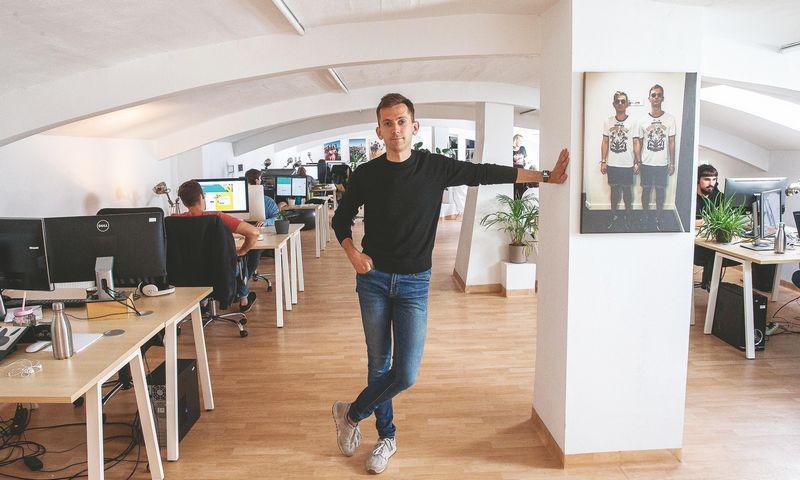 """Povilas Redko, """"Mediapark"""" vadovas ir dalininkas, neatskleidžia, už kiek įsigytos minimos įmonės, bet tikina, kad sandoriai turėtų atsipirkti per 1–2 metus. Juditos Grigelytės (VŽ) nuotr."""