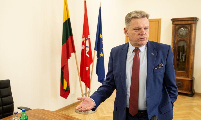 Jaroslavas Narkevičius, LR susisiekimo ministras, tvirtina neplanuojantis struktūrinių pokyčių. Vladimiro Ivanovo (VŽ) nuotr.