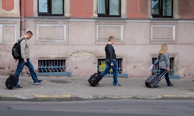 Turistai Vilniuje. Vladimiro Ivanovo (VŽ) nuotr.
