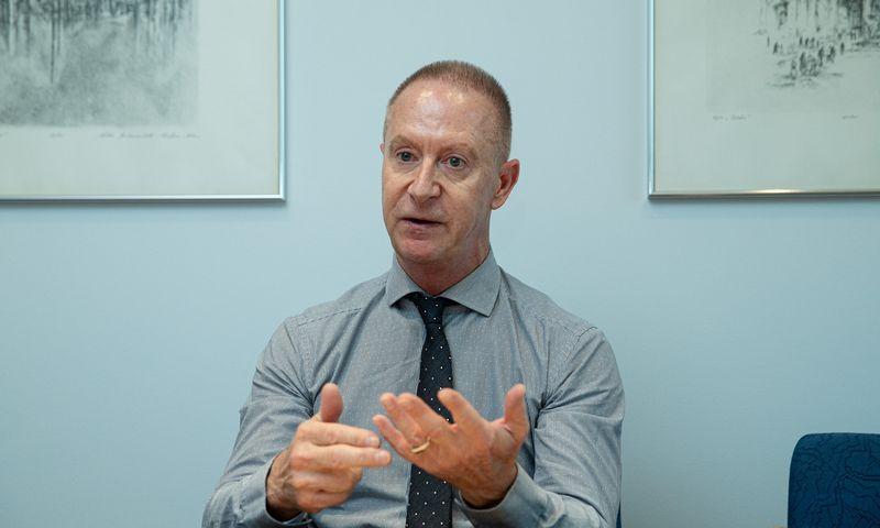 Ianas Brownas, Europos rekonstrukcijos ir plėtros banko vadovas Baltijos šalims. Vladimiro Ivanovo (VŽ) nuotr.