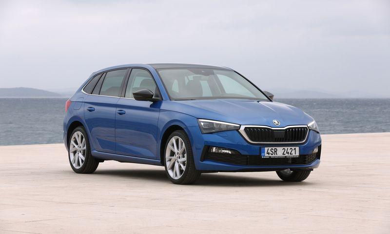 """""""Scalos"""" formatas – kuklus hečbekas su universalo funkcionalumu. """"Škoda Auto"""" nuotr."""
