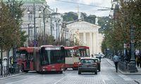 Vilniuje ir Kaune – nemokamas viešasis transportas