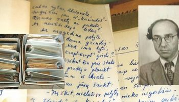 UŽ B. Brazdžionio archyvą internetiniame aukcione prašoma 2,5 mln. USD