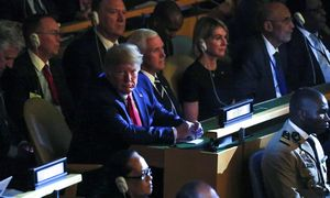 Klimato viršūnių susitikimo auditorijoje – ir JAV prezidentas