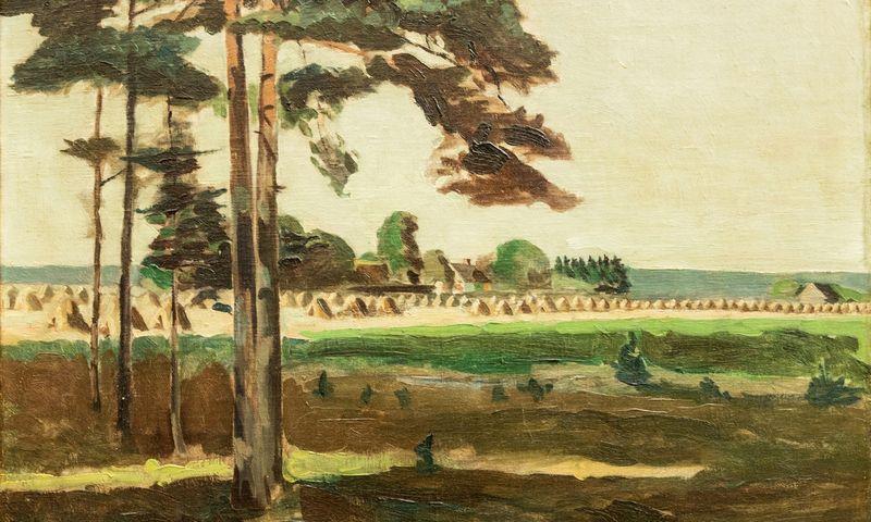"""Jonas Šileika, Panemunės peizažas"""", 1929 m. ARS VIA nuotr."""