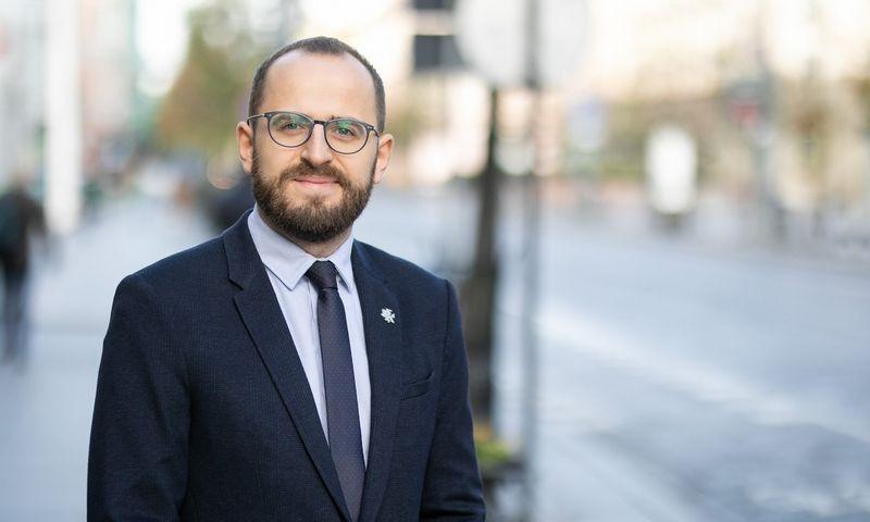 Audrius Rutkauskas, SEB inovacijų centro vadovas. Bendrovės nuotr.