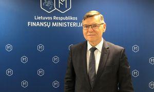 Finansų ministro komandą papildė A. Rimkūnas