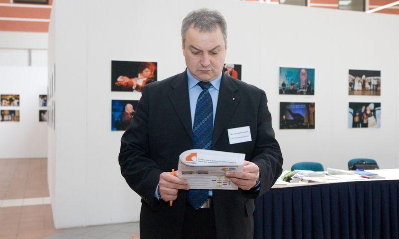 """2011 m. Eduardas Černulis, UAB """"Inti"""" direktorius. Vladimiro Ivanovo (VŽ) nuotr."""