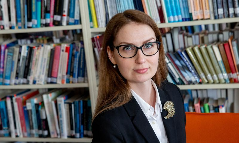 Rima Urbonaitė, Mykolo Romerio universiteto lektorė, politologė. Juditos Grigelytės (VŽ) nuotr.