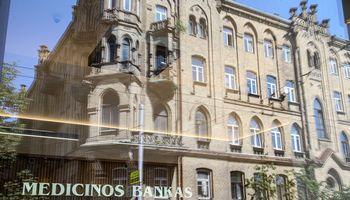 Medicinos bankas pretenduoja atsidurti ant prekystalio