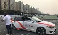 Šanchajus įsileidžia savavaldžius taksi