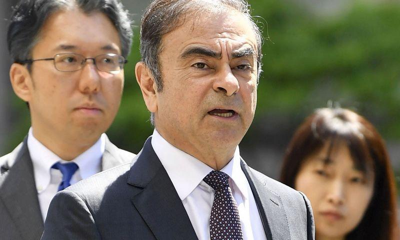 """Japonijoje teismo laukiantis Carlosas Ghosnas susimokės civilinę baudą už investuotojų klaidinimą JAV. AFP / """"Scanpix"""" nuotr."""