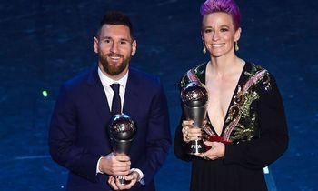 Geriausiu metų futbolininku FIFA paskelbė L. Messi