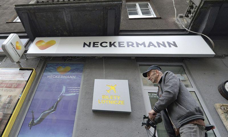 """Neckermann Polska"" biuras Varšuvoje, Lenkija. Czarek Sokolowski (AP/""Scanpix"") nuotr."