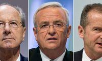 """""""Volkswagen"""" vadovai apkaltinti manipuliacijomis biržoje"""