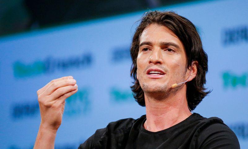 """Adamas Neumannas, vienas """"WeWork"""" įkūrėjų. Eduardo Munozo (""""Reuters"""" / """"Scanpix"""") nuotr."""