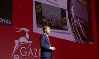 """Smulkaus ir vidutinio verslo atstovai patirtimi dalinasi """"Gazelės"""" konferencijoje Vilniuje"""