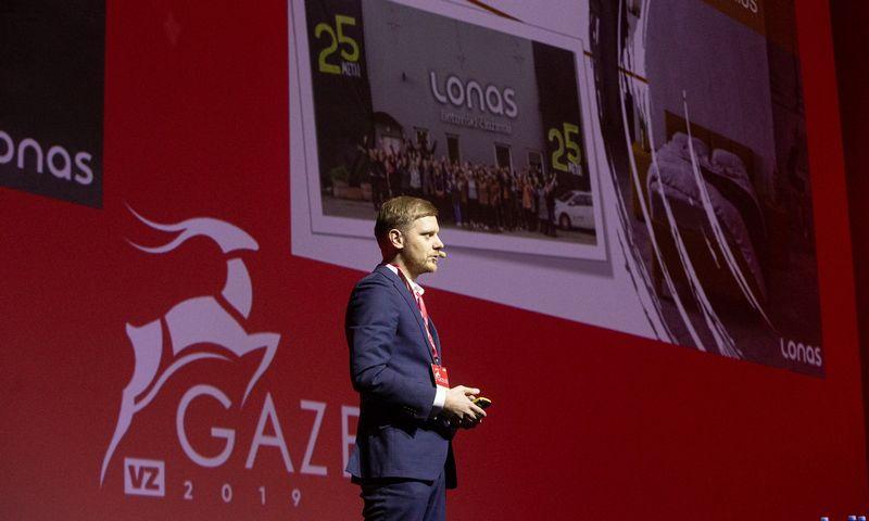 Metinė augančio smulkaus ir vidutinio verslo konferencija. Vladimiro Ivanovo (VŽ) nuotr.