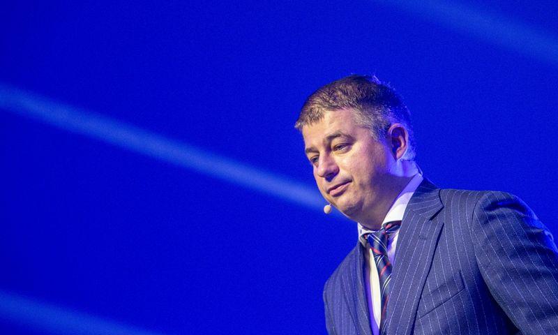 """Gediminas Žiemelis, """"Avia Solutions Group"""" valdybos pirmininkas: """"Tai signalas rinkai, kad ir seniai veikiantys lyderio pozicijas turintys kelionių operatoriai gali bankrutuoti."""" Vladimiro Ivanovo (VŽ) nuotr."""