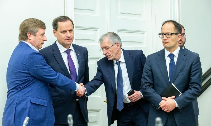 Valdančiosios koalicijos sutartį pasirašiusių partijų sutarimu Seimo pirmininko postas turėjo atitekti LSDDP pirmininkui Gediminui Kirkilui. Juditos Grigelytės (VŽ) nuotr.