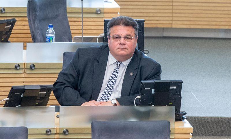 Linas Linkevičius. Juditos Grigelytės (VŽ) nuotr.