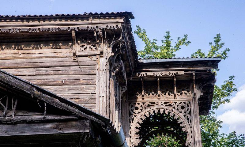 Medinės architektūros paveldo pastatai Vilniuje. Juditos Grigelytės (VŽ) nuotr.
