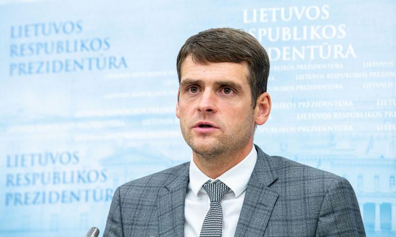 Koalicijos sutartį pasirašiusių partijų vadovų komentarai po susitikimo su Prezidentu. Juditos Grigelytės (VŽ) nuotr.